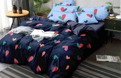 How to spread double bedsheets on the bed